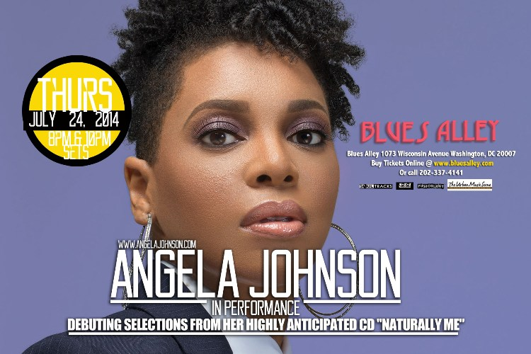 Angela Johnson @ Blues Alley - July 24th, 2014