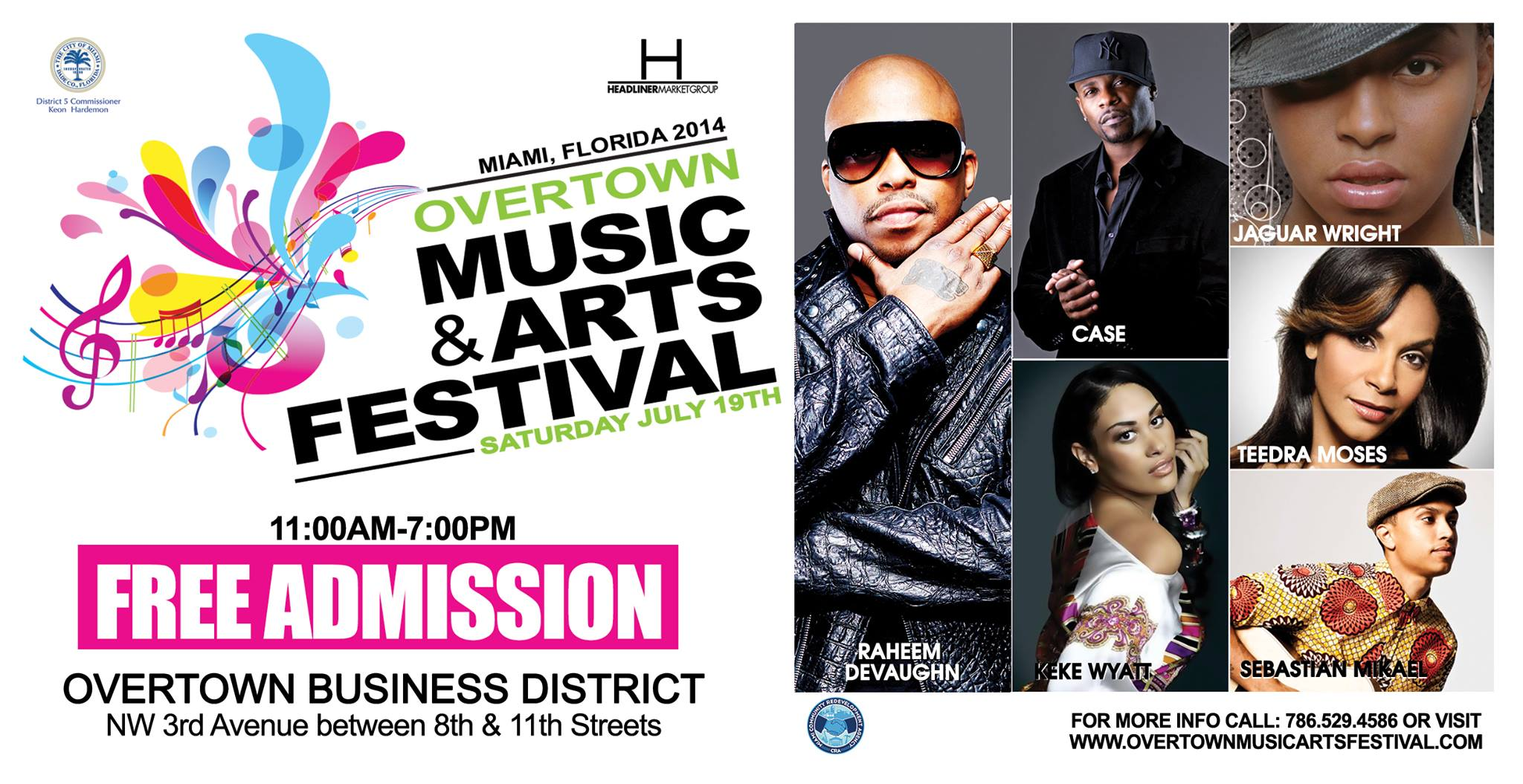 Overtown Music & Arts Festival - 2014