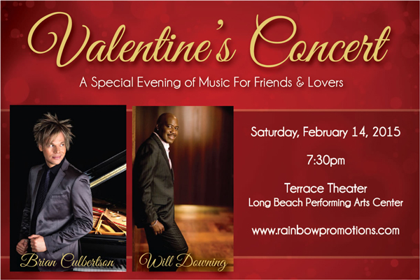 Valentine S Show Brian Culbertson Amp Will Downing Feb 14th