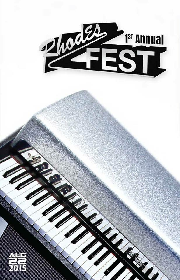 Rhodes Fest - concert program cover