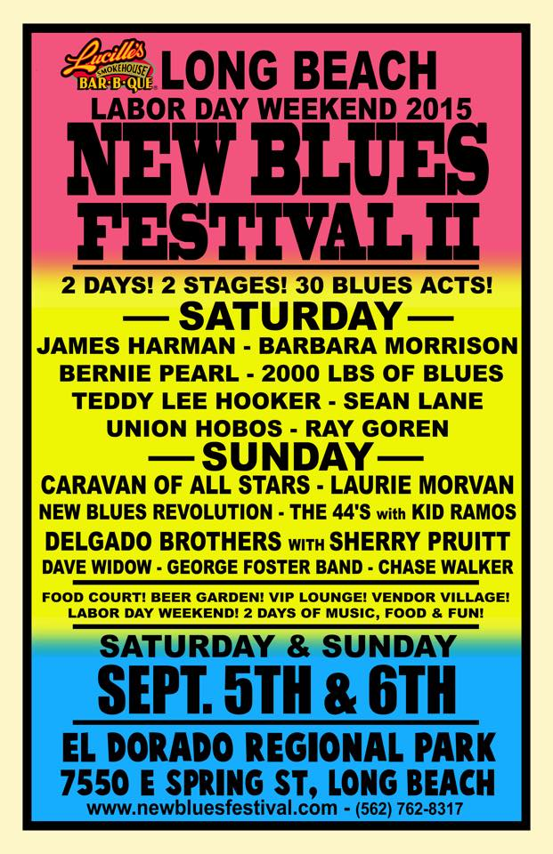 Long Beach New Blues Fest - 2015