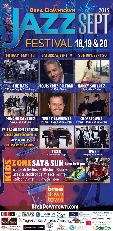 The Brea Downtown Jazz Festival - 2015