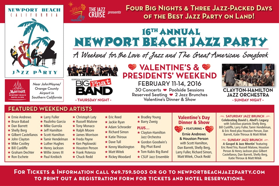 Newport Beach Jazz Party 2016 II