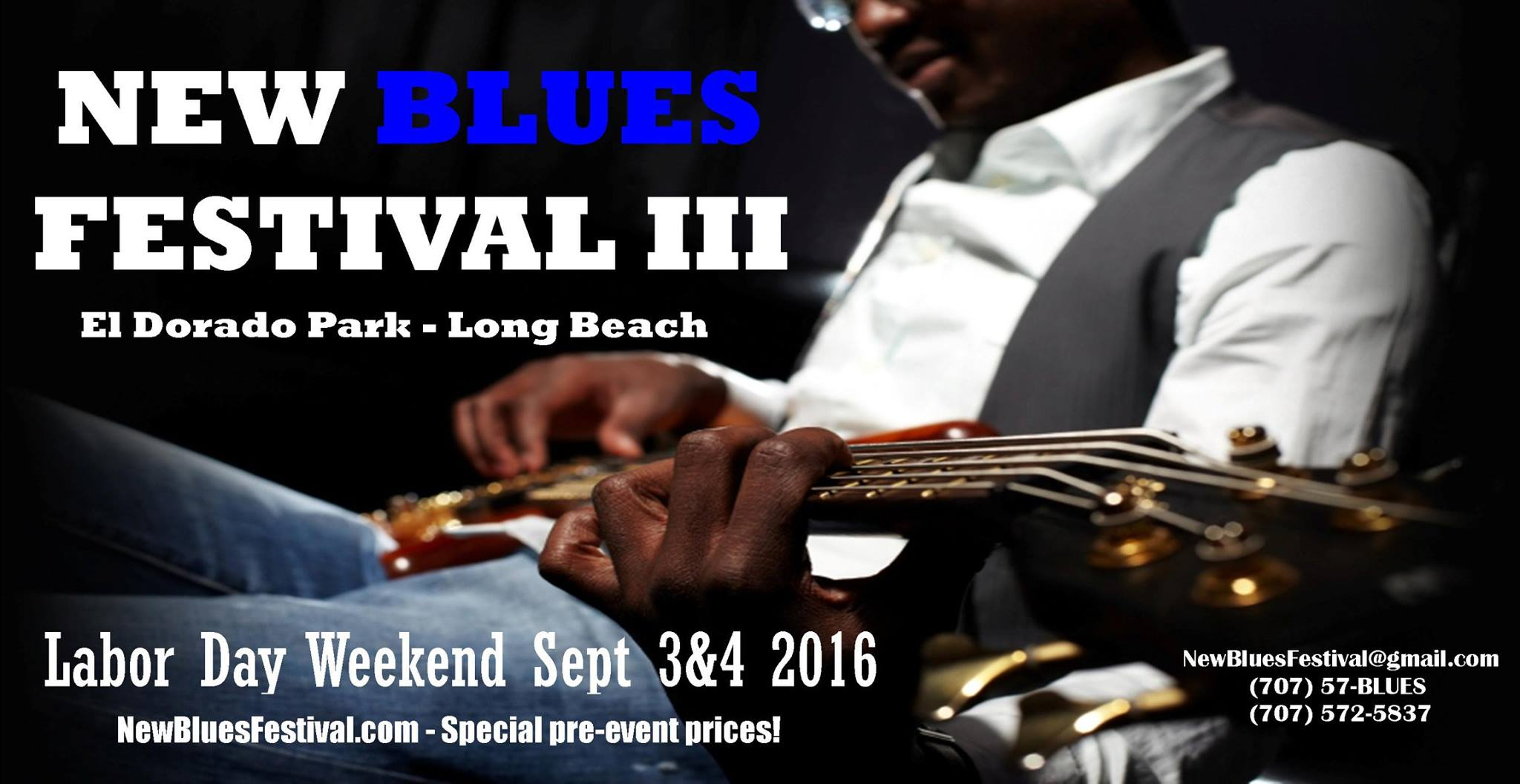 New Blues Fest Logo - 2016