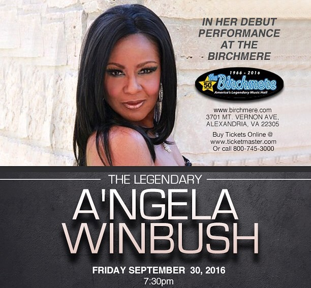 A'ngela Winbush in concert - Sept 30, 2016