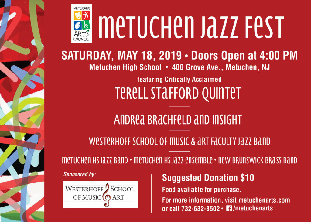 The Metuchen Jazz Fest in New Jersey | May 18th, 2019